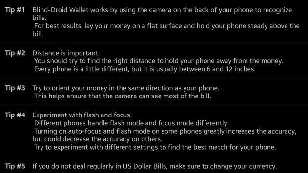 Blind-Droid Wallet — HKD apk screenshot