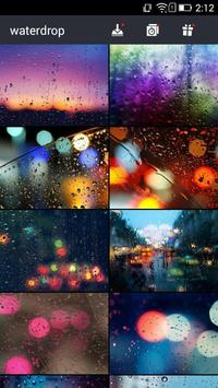 Glass Wallpapers & Rain Drops poster