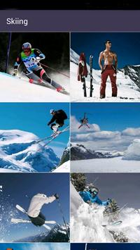 Skiing wallpapers apk screenshot