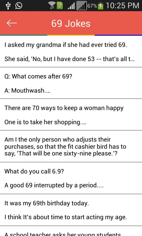 Funny Sexy Dirty Jokes - Free for Android - APK Download | 480 x 800 jpeg 53kB