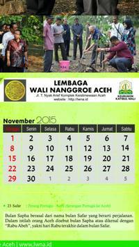 Kalender Almanak Aceh poster