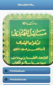 Kitab Masailul Muhtady apk screenshot