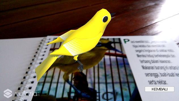 Aplikasi AR Burung Berkicau dan Kicauannya screenshot 4