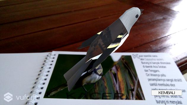 Aplikasi AR Burung Berkicau dan Kicauannya screenshot 2