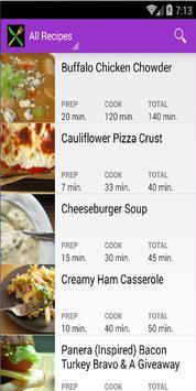 Hot Recipes screenshot 1