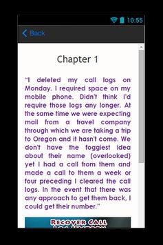 Recover Call Log History Guide screenshot 2