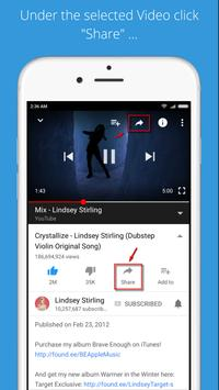 Video shortcuts for YouTube poster