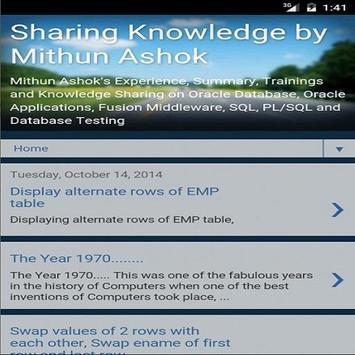 MithunAshok apk screenshot