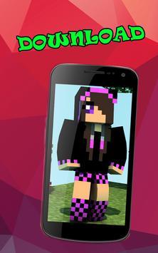 Girls skins for minecraft screenshot 2
