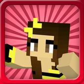 Skins minecraft for girls icon