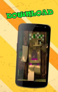 Skins minecraft for girls screenshot 1