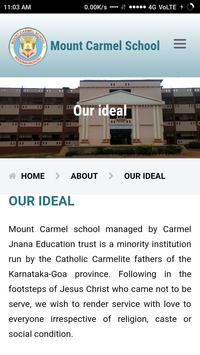 Mount Carmel school screenshot 3