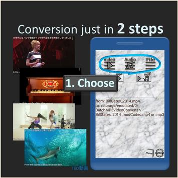 Batch MP3 Video Converter, many files with 1 click poster