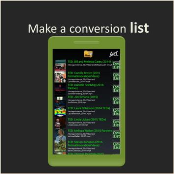 Batch MP3 Video Converter, many files with 1 click apk screenshot