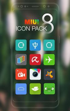 MIUI 8 - Icon Pack New Free apk screenshot