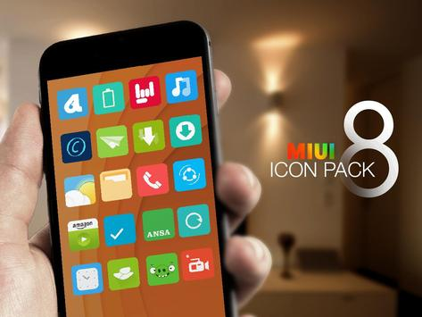 MIUI 8 - Icon Pack New Free poster