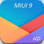 HD Xiaomi MIUI 9 Wallpapers icon