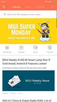 Xiaomi MIUI Forum 海报