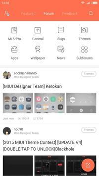 Xiaomi MIUI Forum 截图 1
