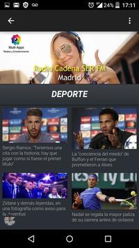Cadena Ser Radio Madrid Gratis screenshot 5