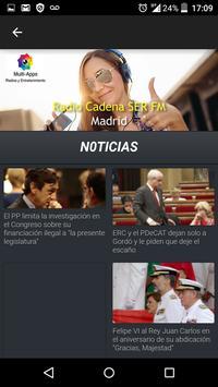Cadena Ser Radio Madrid Gratis screenshot 3