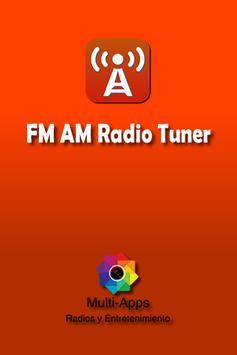 FM AM Radio Tuner apk screenshot