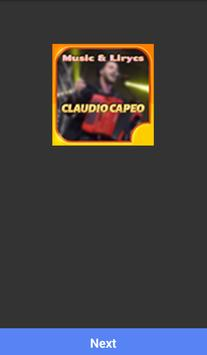 CLAUDIOCAPEO MUSICA SONGS poster