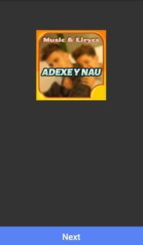 ADEXE Y NAU MUSICA SONGS poster