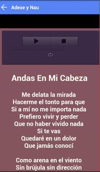 ADEXE Y NAU MUSICA SONGS screenshot 2