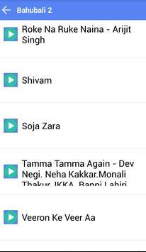 BAHUBALI 2 MUSICA SONGS apk screenshot