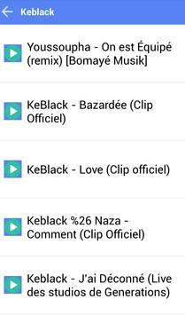 KEBLACK MUSICA SONGS screenshot 1