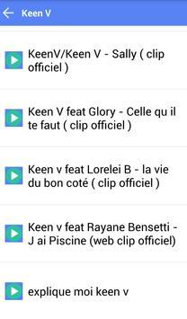 KEEN V MUSICA SONGS apk screenshot