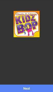 KIDZ BOP MUSICA SONGS Affiche