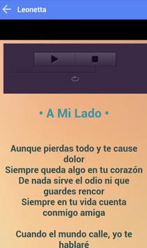 LEONETTA MUSICA SONGS screenshot 2