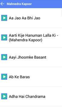MAHENDRA KAPOOR MUSICA SONGS screenshot 1