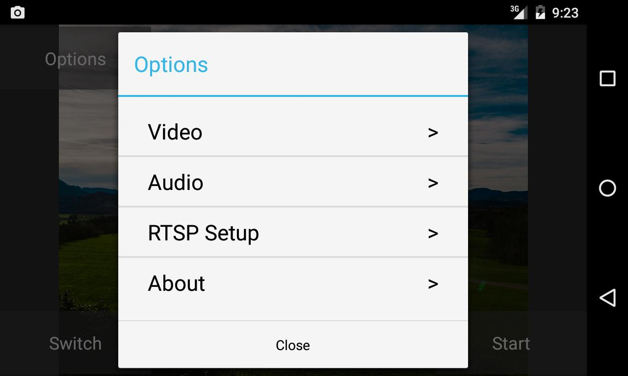 RTSP Camera Server for Android - APK Download