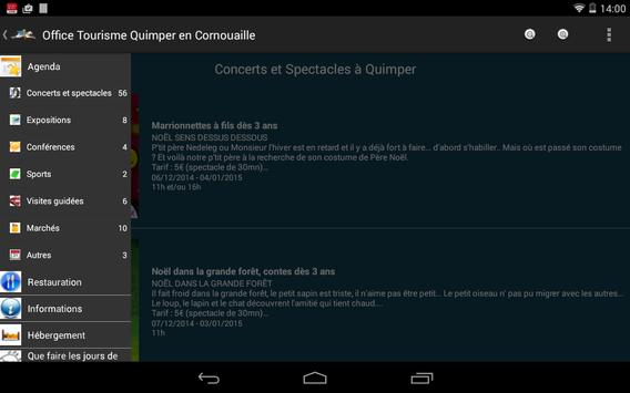 Quimper Tourisme screenshot 9