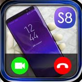 Fake call s8 icon