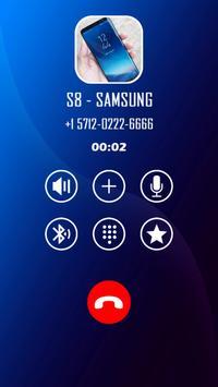 Fake call s8 screenshot 3
