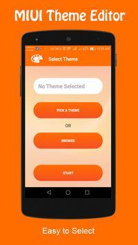 Theme Editor For MIUI screenshot 1