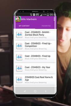 Milo Manheim - Zombies music 2018 screenshot 3