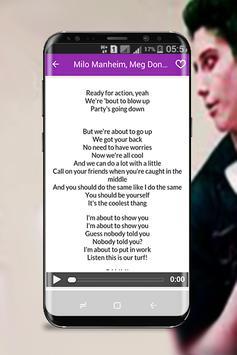 Milo Manheim - Zombies music 2018 screenshot 1