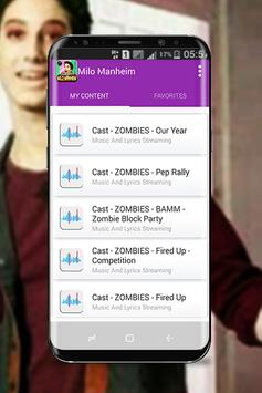 Milo Manheim - Zombies music 2018 screenshot 2