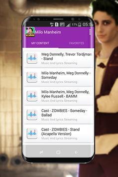 Milo Manheim - Zombies music 2018 screenshot 4