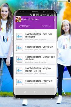 Haschak Sisters - New Songs 2018 screenshot 1
