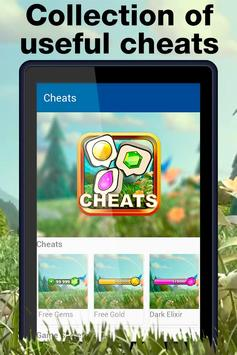 Game Cheats for Clash of Clans poster