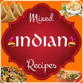Mixed India Recipes icon