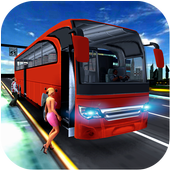 City Coach Bus Simulator 17 - Real Parking Test 3D icon