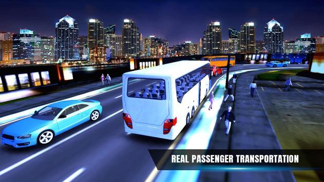 City Coach Bus Simulator 17 - Real Parking Test 3D screenshot 9