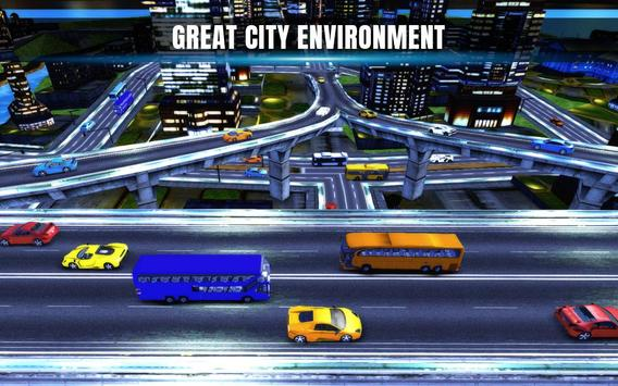 City Coach Bus Simulator 17 - Real Parking Test 3D screenshot 1